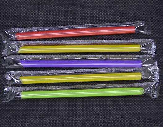 单支彩色吸管